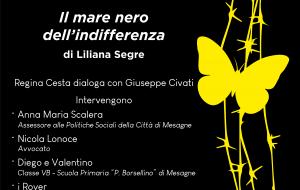 """Festival del Libro Emergente: domani in diretta Facebook si presenta """"il mare nero dell'indifferenza"""" di Liliana Segre"""