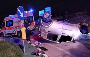 Auto si ribalta sulla Brindisi-San Vito: muore 33enne