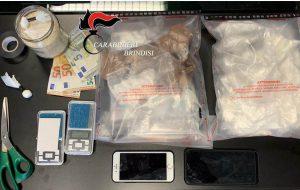 Fiumi di cocaina a Francavilla: colpi dei Carabinieri, sequestrati 1,3 Kg