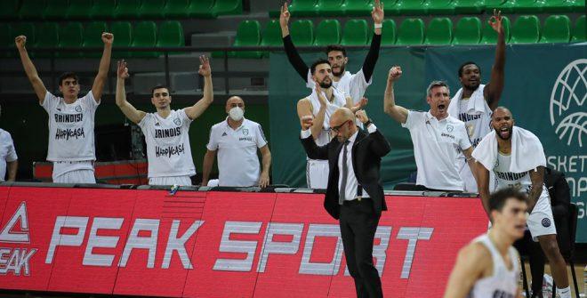 BCL, la Happy Casa Brindisi schianta il Darussafaka: arriva la prima storica qualificazione al secondo turno di una Coppa Europea