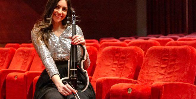 Domenica 28 il violino danzante di Chiara Conte al Verdi. Dalle 18.00 diretta streaming sulla pagina facebook di Brundisium.net