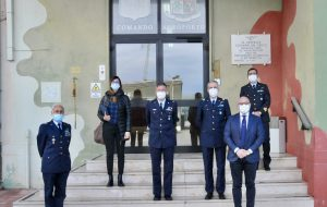 Delegazione parlamentare M5S in visita al Distaccamento Aeroportuale di Brindisi dell'Aeronautica Militare