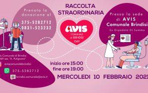 C'è bisogno di sangue all'Ospedale Perrino: mercoledì 10 raccolta promossa da Avis Brindisi