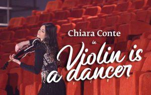 La magia del violino danzante di Chiara Conte al Verdi: ora in diretta streaming su Brundisium.net