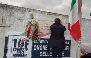 """10 febbraio: celebrato anche a Brindisi il """"Giorno del Ricordo"""""""