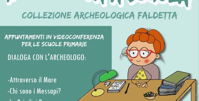 """Covid e cultura, il museo """"Collezione Archeologica Faldetta"""" entra nelle scuole"""