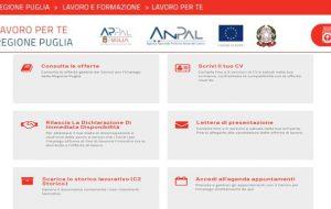 """È online """"Lavoro per Te"""", il nuovo portale di Regione Puglia per i servizi per il lavoro: un unico luogo virtuale per l'incrocio tra domanda e offerta"""