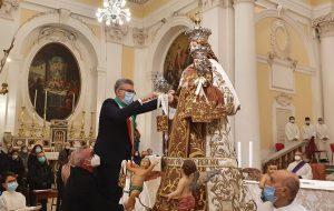 Il Sindaco Matarrelli consegna le Chiavi alla Madonna del Carmine: il discorso