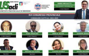 Eletto il nuovo consiglio provinciale US Acli di Brindisi