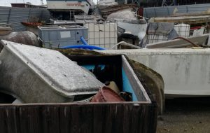 Porto di Brindisi: si sono concluse le operazioni di bonifica e sgombero di un'area demaniale occupata abusivamente
