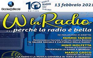 Ciccio Riccio celebra il World Radio Day
