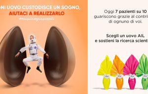 Uova di Pasqua AIL: ecco come prenotare il dono solidale. L'appello di Chiara Sergio e dell'arbitro Marco Di Bello
