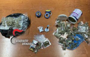 Possesso di droga: arresti, denunce e segnalazioni in tutta la Provincia di Brindisi