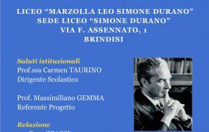 """""""Moro: Martire Laico"""": giovedì 10 incontro al Liceo """"Simone Durano"""" di Brindisi"""