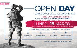 Orientamento alle Professioni in Divisa: Lunedi 15 l'open day della Nissolino Corsi, società leader nella preparazione dei Concorsi Militari