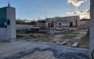 Sequestrato cantiere edile sulla sponda del Canale Patri: denunciati committente e tre operai