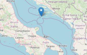 Forte sisma in Adriatico avvertito in tutta la Puglia: allertata la Protezione Civile