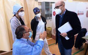 Emergenza Covid: la Asl vaccina i pazienti affetti da gravi patologie del sangue