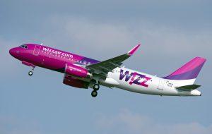 Da Giugno Wizz Air collega l'aeroporto di Brindisi con Pisa e Bologna