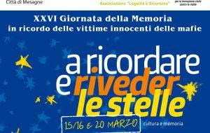 XXVI Giornata della memoria e dell'impegno in ricordo delle vittime innocenti delle mafie: le iniziative del Comune di Mesagne