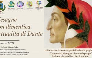 """Mesagne non dimentica l'attualità di Dante: sulla pagina fb """"Iononmispengo"""" il contributo del prof. De Mauro e degli studenti"""