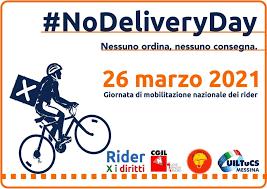 Venerdì 26 sciopero dei riders: il sostegno di Nidil Cgil e Uiltemp