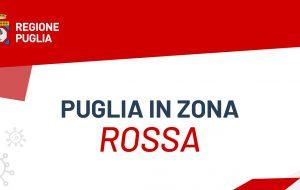 Coronavirus: in Puglia zona rossa rafforzata sino al 6 Aprile: ecco le maggiori restrizioni