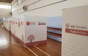 Il centro vaccinale di Mesagne è pronto. Si attende l'arrivo dei vaccini