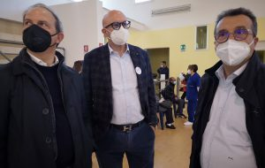 Pazienti oncologici e trapiantati di fegato oggi vaccinati al PalaVinci