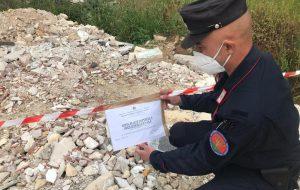 43enne denunciata per gestione illecita e deposito incontrollato di rifiuti