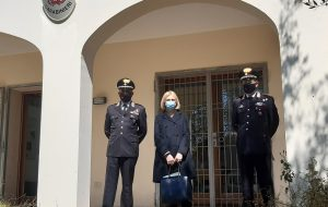 Il Prefetto Bellantoni incontra il Gruppo Carabinieri Forestale