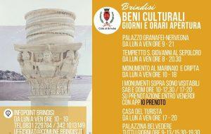 Riaprono i beni culturali della città di Brindisi