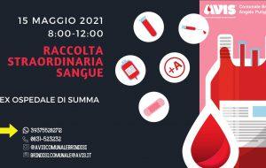 Avis Brindisi: Sabato 15 raccolta sangue presso l'ex ospedale Di Summa