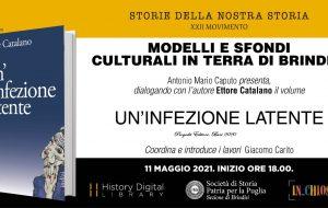 """Martedì 11 si presenta """"Un'infezione latente"""", il nuovo libro del prof. Ettore Catalano"""
