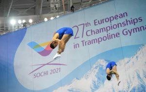 Trampolino Elastico: il brindisino Lavino al quinto posto ai Campionati Europei di Sochi