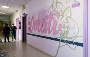 Senologia di San Pietro Vernotico, murales donati dall'associazione Cuore di Donna
