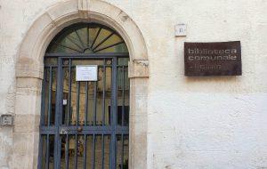 Riaperto l'accesso alla sala lettura/studio della Biblioteca di Fasano