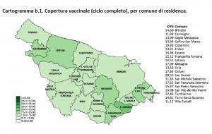 Campagna vaccinale anti Covid: il report sulle dosi somministrate in Provincia di Brindisi al 13 maggio