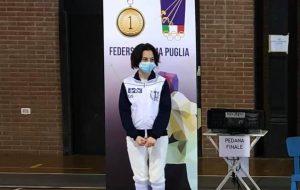 Circolo della Scherma Brindisi in evidenza nella seconda prova del campionato interregionale gran premio giovanissimi .