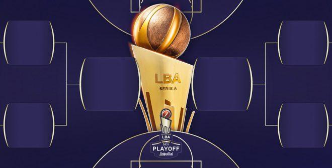 Playoff LBA: il tabellone, le date e gli orari dei quarti di finale