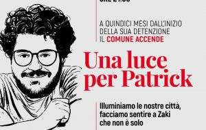 """Il Comune di Brindisi aderisce a """"Una luce per Patrick"""""""