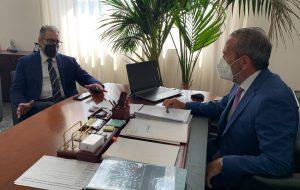 """Bruno incontra il presidente Rina (ASI): """"totale disponibilità per rilanciare l'area del consorzio di Francavilla Fontana"""""""