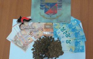 Detiene in casa 95 grammi di marijuana: arrestato 18enne