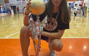 La brindisina Giorgia Amatori convocata in nazionale Under 19