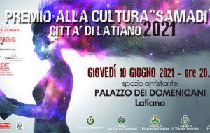 A Latiano tornano il Premio alla Cultura Samadi XII e la Finale di Adotta un Esordiente X