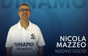 Nicola Mazzeo nuovo socio della Dinamo Basket Brindisi