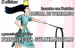Inclusione e letteratura: giovedì ad Oria l'autrice Cosima Di Tommaso