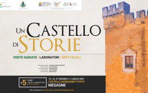 """Un Castello di Storie: Teatro, Laboratori e Visite Guidate al Castello di Mesagne. Si parte sabato 12 con """"Revolution"""" della compagnia """"Meridiani Perduti"""""""