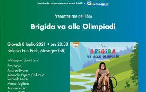 """Mesagne Città che Legge: Giovedì 8 luglio presentazione del libro """"Brigida va alle Olimpiadi"""""""