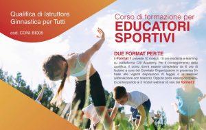 CSI: aperte le iscrizioni per il Corso per Educatori sportivi